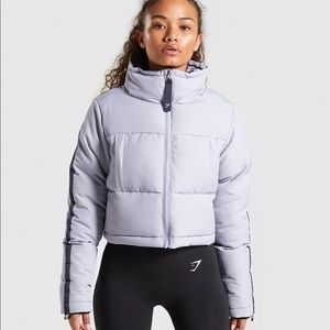 GYMSHARK OVERSIZED CROPPED PUFFER
